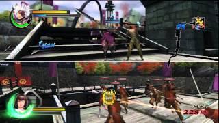 Sengoku Basara: Samurai Heroes - 2 player co-op mode - Motochika
