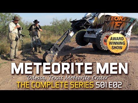 "S01 E02 ""Odessa Crater"" METEORITE MEN"