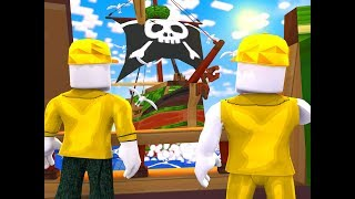 The GREAT PIRATE War (Duck Army Roblox Adventures)