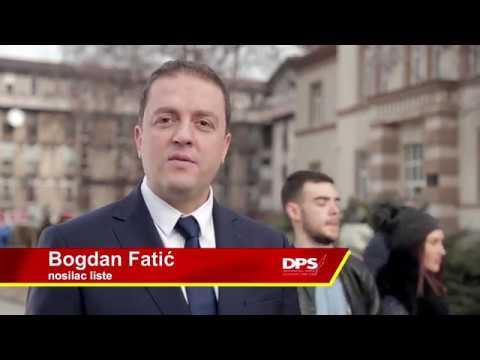 BERANE POBJEĐUJE - Milo Đukanovic DPS, SD, BS Video 1