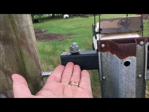 Making A Hinge For An Old Farm Gate