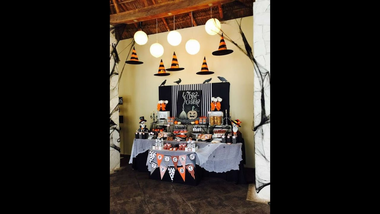 Halloween 2016 ideas diy dulces mesa for Ideas para decorar mesa de dulces