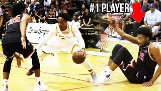 Demar Derozan HUMBLES #1 High School Player! Throws Ball at Him & Scores 30 With NO EFFORT!