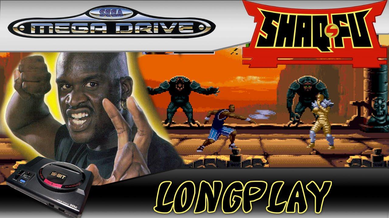 Longplay Shaq Fu Story Mode Megadrive Genesis All