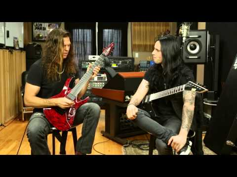 Chris Broderick and Gus G Trade Shred Licks, Talk About Learning Guitar