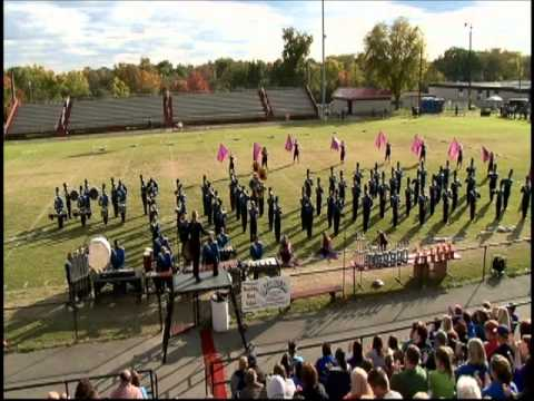 Lebanon High School Marching Band 2012 Macabre