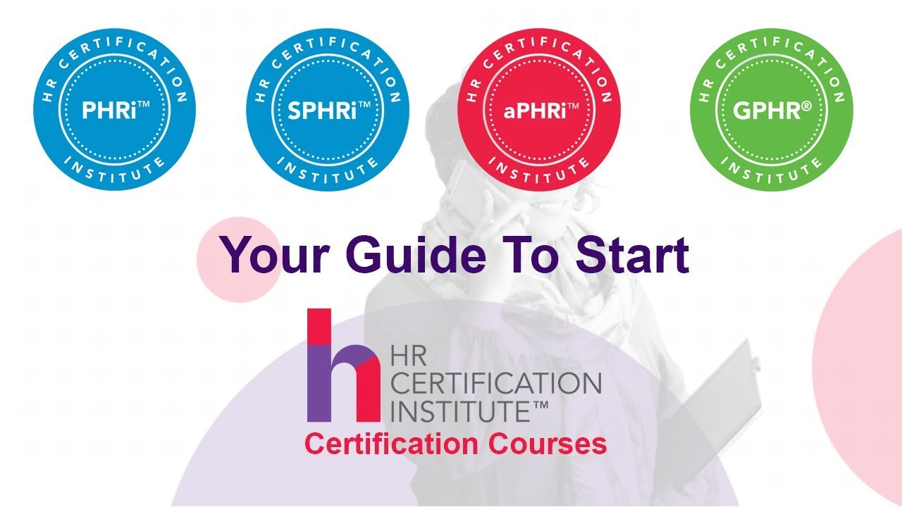 How To Start Hrci Certification Courses Youtube