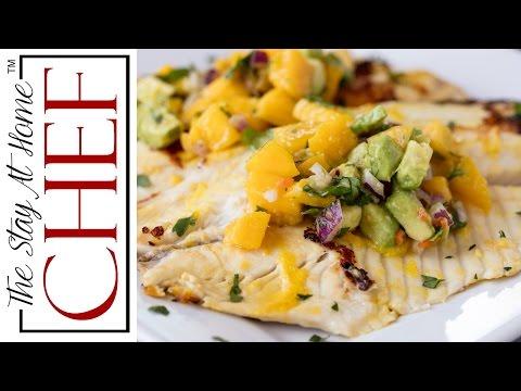 How to Make Mango Chile Tilapia