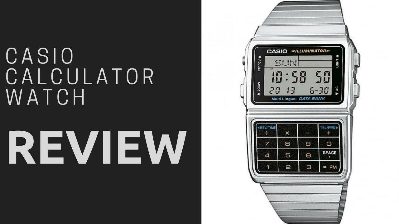 Casio Dbc 611e 1ef Calculator Retro Watch Review 2018 Youtube
