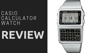 Casio DBC-611E-1EF Calculator retro watch review 2018