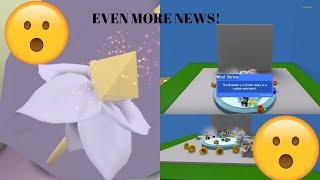 ROBLOX - BEE SWARM SIMULATOR PETAL WAND IN ACTION! + WIND SHRINE NEWS!!