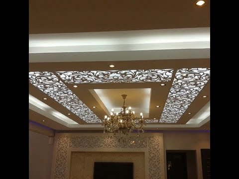 75 Pictures Gypsum Ceilings Decoration Youtube