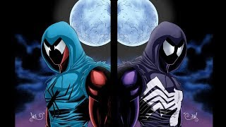 Drawing/Painting The Scarlet Spider, Venomized