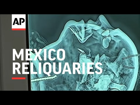 Digital X-rays look inside Mexico reliquaries