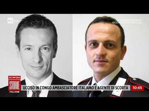 Congo, attacco a convoglio ONU: muore ambasciatore italiano - Storie italiane 23/02/2021