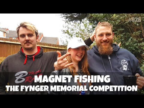 The Fynger Memorial Magnet Fishing Competition 2018.