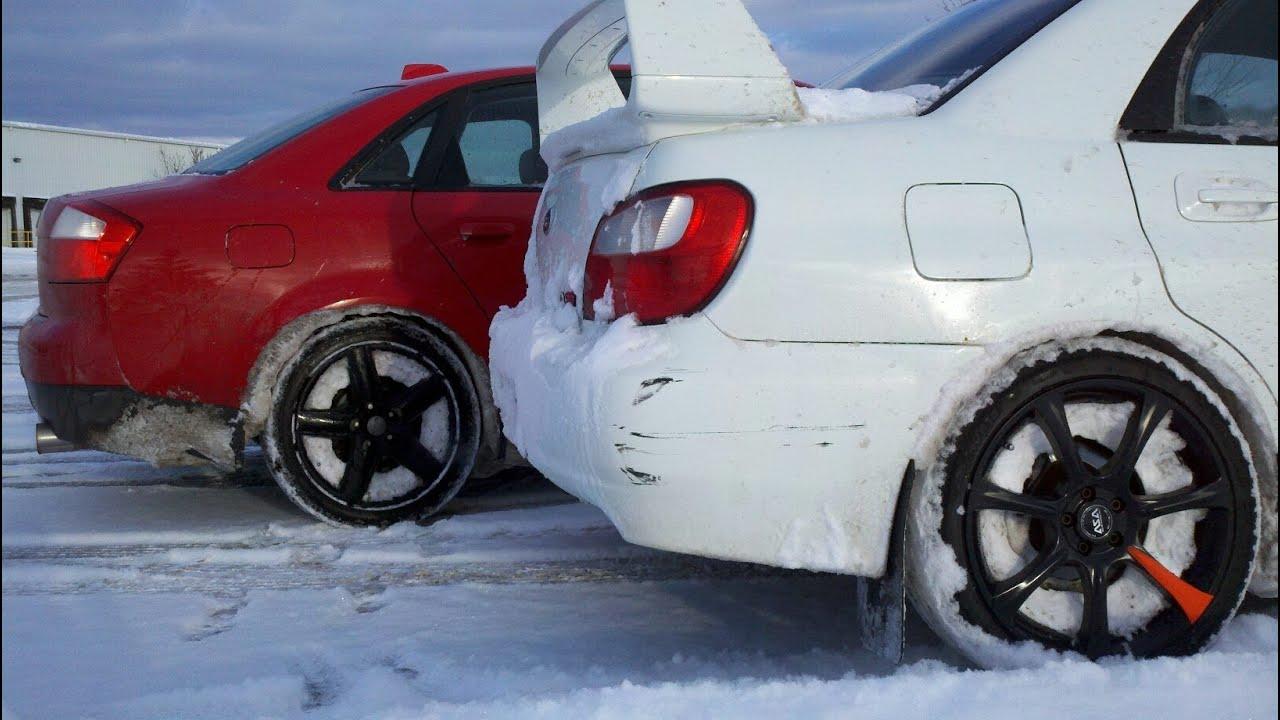 Subaru WRX and Audi A4 - Follow the Leader! - YouTube on mini audi, lexus audi, racing audi,