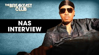 Nas Explains Why Him And Biggie Didn't Do A Record Together, Talks King's Disease, Belly And More