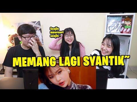 (G)I-DLE((여자)아이들) - Senorita M/V Reaction [SYANTIK SYEKALI~!!]