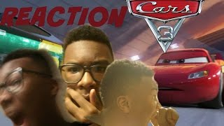 CARS 3 Extended Sneak Peek- REACTION!!!