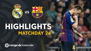 Highlights Real Madrid vs FC Barcelona (0-1)