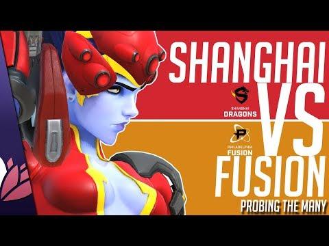 ROCK THE DRAGON - Shanghai vs Fusion - PRObing the Many
