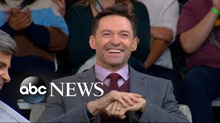 Hugh Jackman dishes on 'The Front Runner' live on 'GMA'