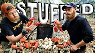 Catch And Cook Lobster A Lot Of Lobster Day 5 Of 8 Maine W.l.c. /catch And Cook Survival