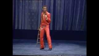 Eddie Murphy impersonates James Brown