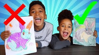 3 Marker Challenge with Easter Bunny!