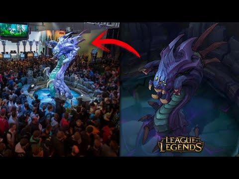 Estatua �pica Baron Nashor [League of Legends]
