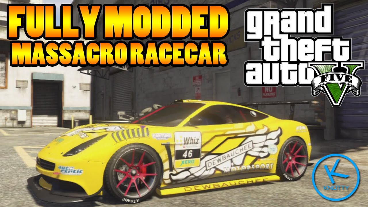 GTA 5 Fully Modified: DEWBAUCHEE MASSACRO ( RACECAR ...