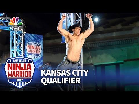 Lance Pekus at the Kansas City Qualifiers - American Ninja Warrior 2017
