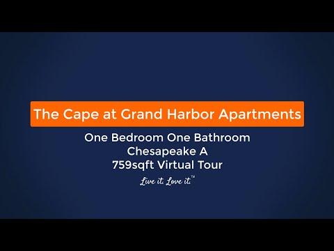 The Cape At Grand Harbor Apartments Chesapeake A 759sqft Virtual Tour