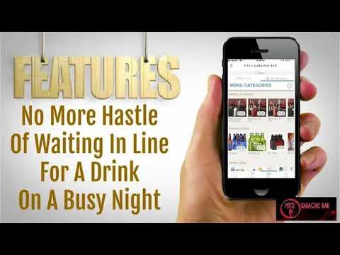 Patron Mobile Drink Order App