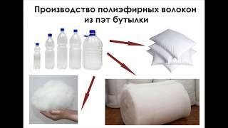 Синтетическое пэт волокно (переработка пластиковых бутылок)(, 2017-08-03T21:55:55.000Z)