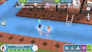 The sims free play adolescente está namorando...!!