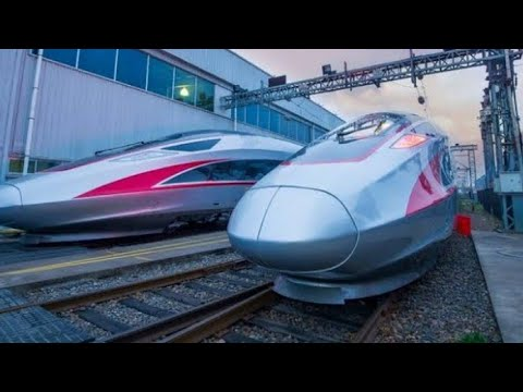 fast trains in various countries of the world