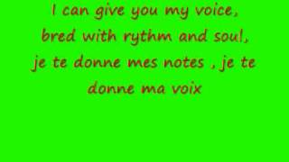 je te donne lyrics