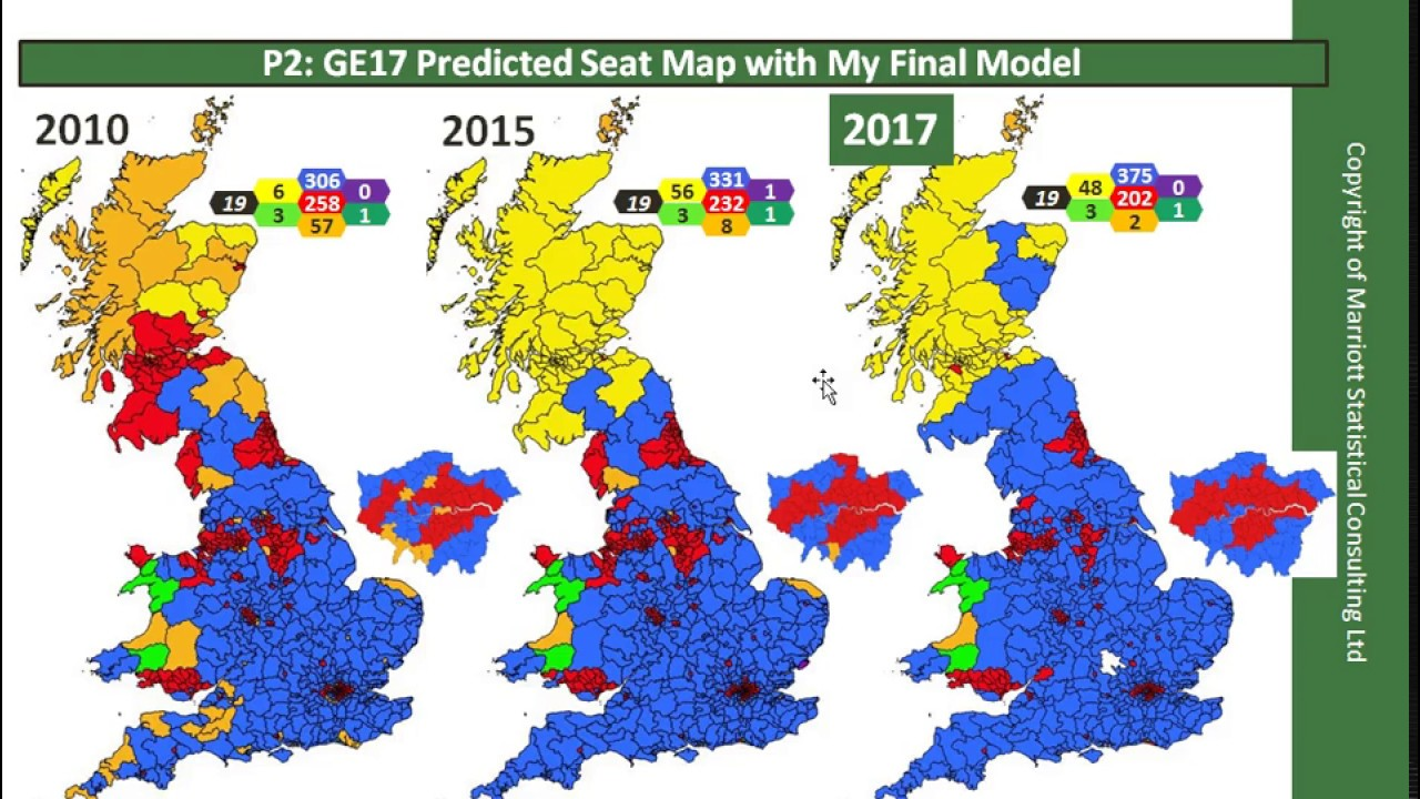 Map Of Uk General Election Results.Uk General Election Forecast 2017 Part 4 What Will The Results Be