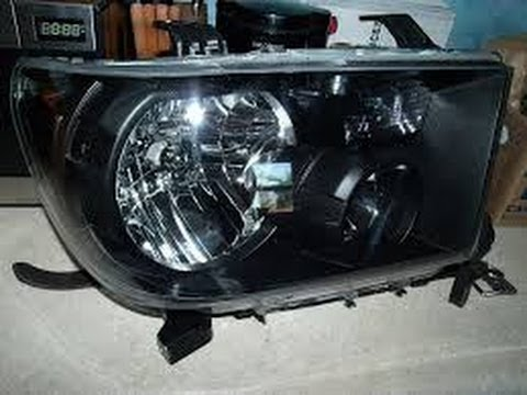 Toyota Tundra Colored Headlight Mod Bhlm Youtube