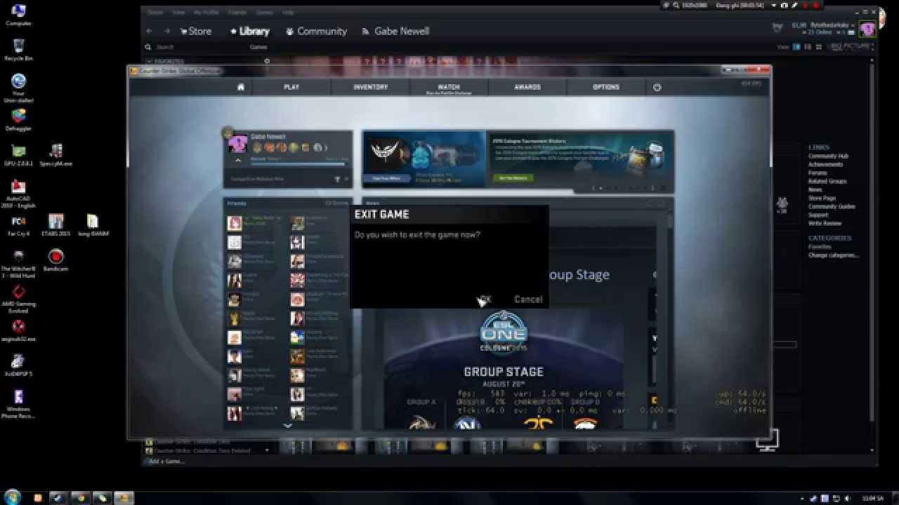 How to show FPS, Ping, Packet loss In-Game on Dota 2, CS GO