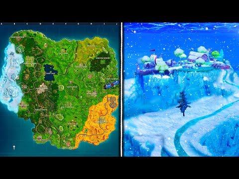 *NEW* LEAKED SEASON 5 MAP CHANGES! - Fortnite Battle Royale Season 5 Map UPDATE