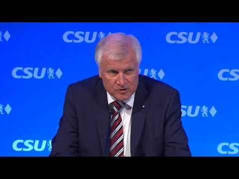"""Nach Bundestagswahl 2017: Horst Seehofer - """"Wir haben verstanden"""""""