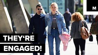 Joe Jonas and Sophie Turner Are Engaged