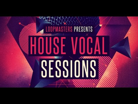House Vocals Acapellas Sample Library