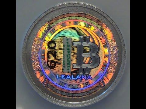 Lealana Bitcoins   2013 Silver Lealana .1 Bitcoin   Physical Lealana Cryptocurrency