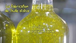 Processus de fabrication de l'huile d'olive extra vierge Tramier