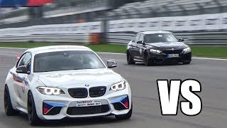 BMW M2 vs BMW M3 - DRAG RACE