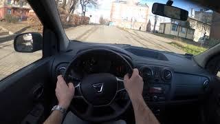 Dacia Lodgy POV Test Drive